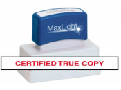 CERTTRUE - Certified True Copy XL 55