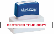 Certified True Copy XL 55