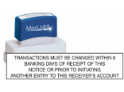 PRIORNOTICE - Prior Notice XL 265