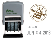 Shiny ES-400 Self-Inking Dater