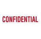 "XL-23020 - ""Confidential"" Red"
