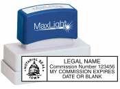 XLNOTARY - Maxlight XL2-115 Notary Stamp