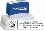 Maxlight XL2-115 Notary Stamp