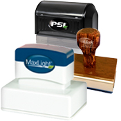 Custom Maxlight Pre-Inked and PSI Self-Inking Stamps